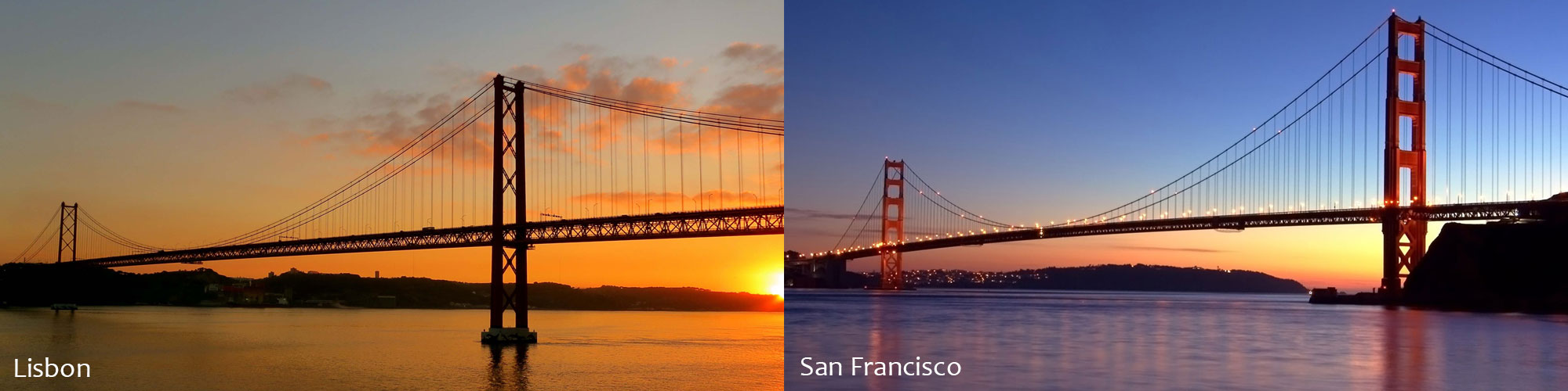 Are we in Lisbon or San Francisco?